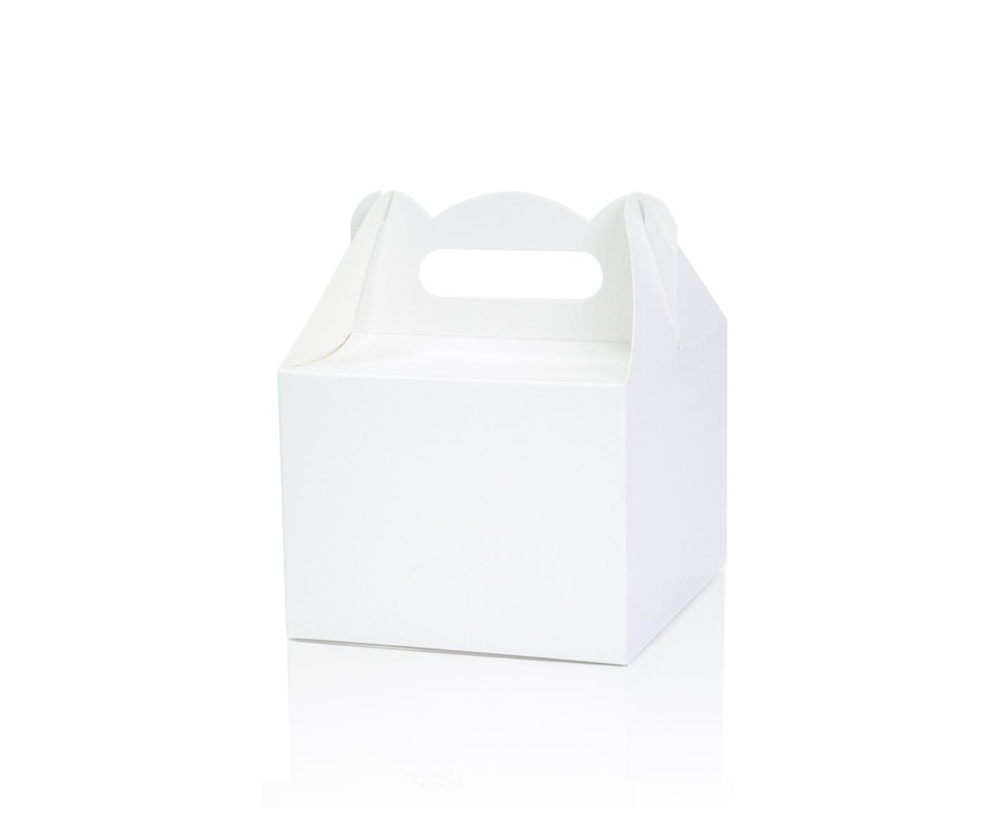 Pudełko na ciasto BIAŁE r. M