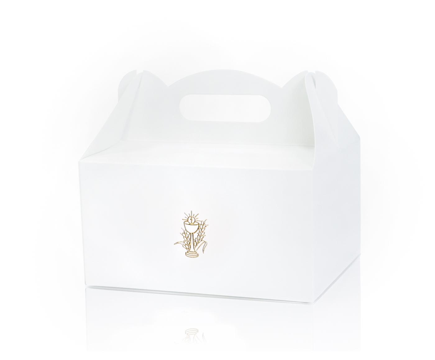 Pudełko na ciasto ZŁOTY KŁOS r. L